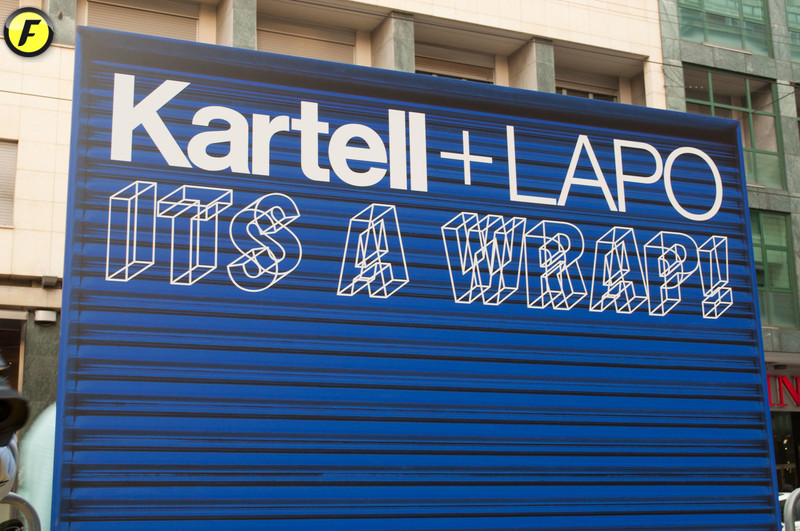 Kartell + Lapo. It\'s a wrap! | Fuorisalone.it