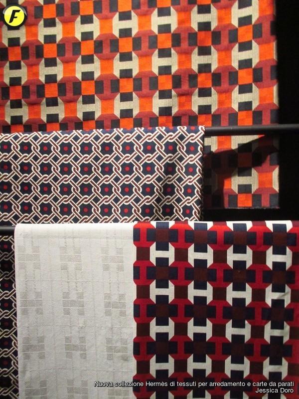 nuova collezione hermès di tessuti per arredamento e carte da ... - Tessuti Per Arredamento